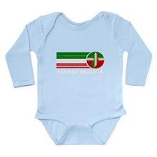 Seaside Heights NJ Long Sleeve Infant Bodysuit
