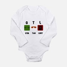 Gym Tan Laundry Long Sleeve Infant Bodysuit