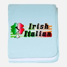 Irish Italian baby blanket