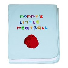 Mommy's Little Meatball baby blanket