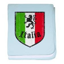Italian Flag baby blanket