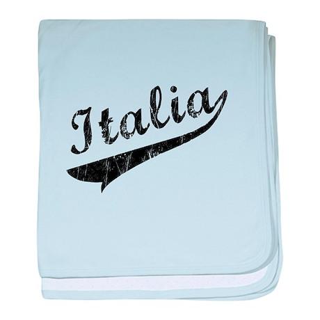 Italia Vintage Baseball baby blanket