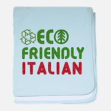 Eco Friendly Italian baby blanket