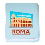 Rome Coliseum baby blanket
