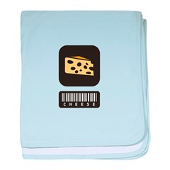Cheese Lovers baby blanket