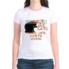 music and cats T