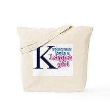 KAPPA SORORITY SHIRT TEE TSHI Tote Bag