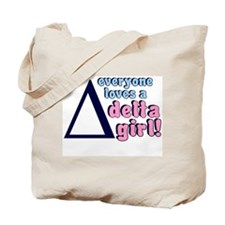 DELTA SORORITY SHIRT TEE TSHI Tote Bag