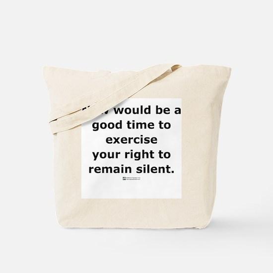 Remain Silent -  Tote Bag