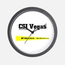 CSI Vegas Wall Clock