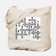 WINE SCRABBLE-STYLE Tote Bag