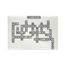 Mother Scrabble-Style Rectangle Magnet