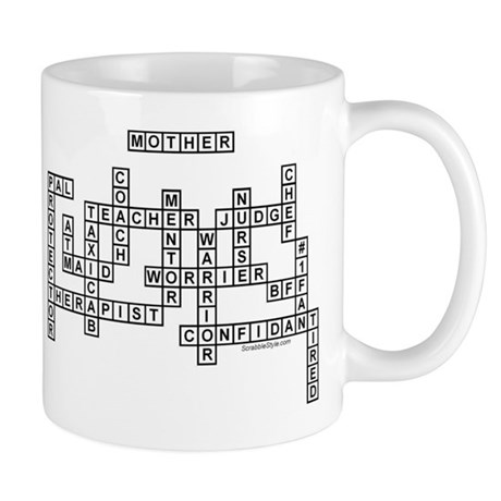 Mother Scrabble-Style Mug