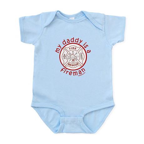 MY DADDY IS A FIREMAN Infant Bodysuit