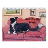 Susan alison border collie calenders 2018 Calendars