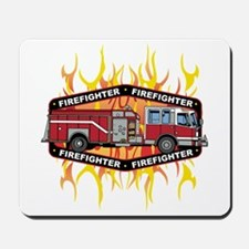 Fire Engine Truck Mousepad