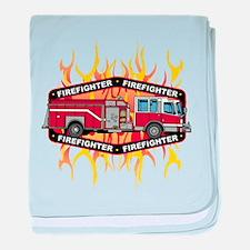 Fire Engine Truck baby blanket