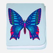 Fantasy Butterfly baby blanket
