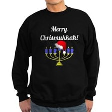 Merry Chrismukkah Menorah Sweatshirt