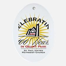 St. Paul Centennial Oval Ornament