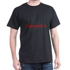 Red Font Marquette T-Shirt