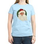 Vintage Santa Women's Light T-Shirt