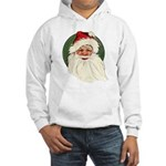 Vintage Santa Hooded Sweatshirt
