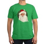 Vintage Santa Men's Fitted T-Shirt (dark)