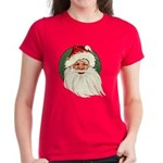 Vintage Santa Women's Dark T-Shirt