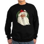 Vintage Santa Sweatshirt (dark)