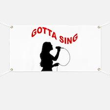 SINGER Banner