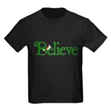Believe with Santa Hat T