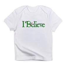 I Believe with Santa Hat Infant T-Shirt