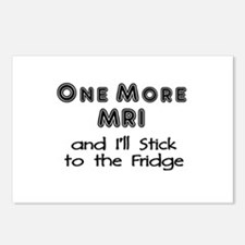 One more MRI...Stick to the Fridge Postcards (Pack