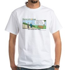 Cable News White T-Shirt