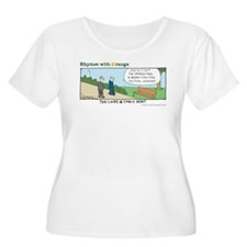 Cable News Women's Plus Size Scoop Neck T-Shirt