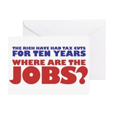 Where are the jobs? Greeting Card