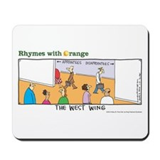 The West Wing Mousepad