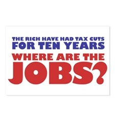 Where are the jobs? Postcards (Package of 8)