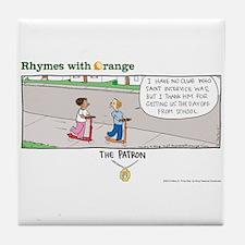 The Patron Tile Coaster