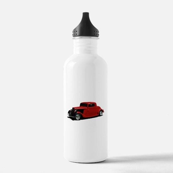 Cute Hot rod Water Bottle