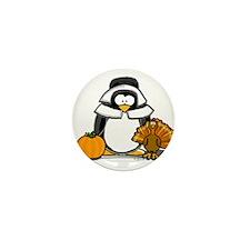 Pilgrim Girl Penguin Mini Button (100 pack)