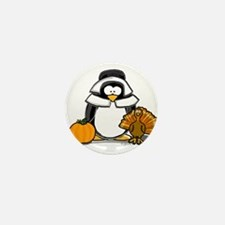 Pilgrim Girl Penguin Mini Button (10 pack)
