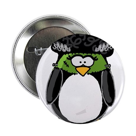 "Bride of Frankenstein Penguin 2.25"" Button (1"