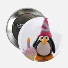 "Birthday Penguin 2.25"" Button (10 pack)"