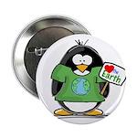 Love the Earth Penguin 2.25