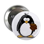 "Chocolate Brownie Penguin 2.25"" Button (10 pa"