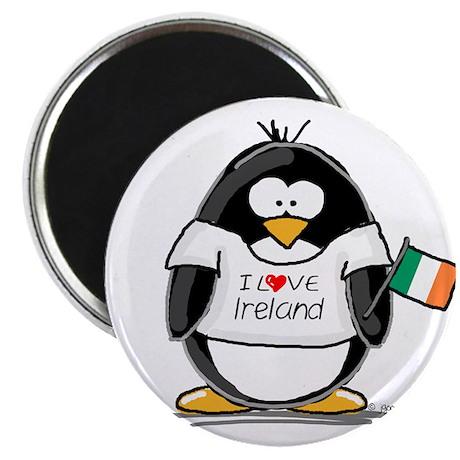 """Ireland Penguin 2.25"""" Magnet (100 pack)"""