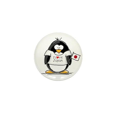 Japan Penguin Mini Button (100 pack)