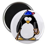 "Baseball penguin 2.25"" Magnet (100 pack)"